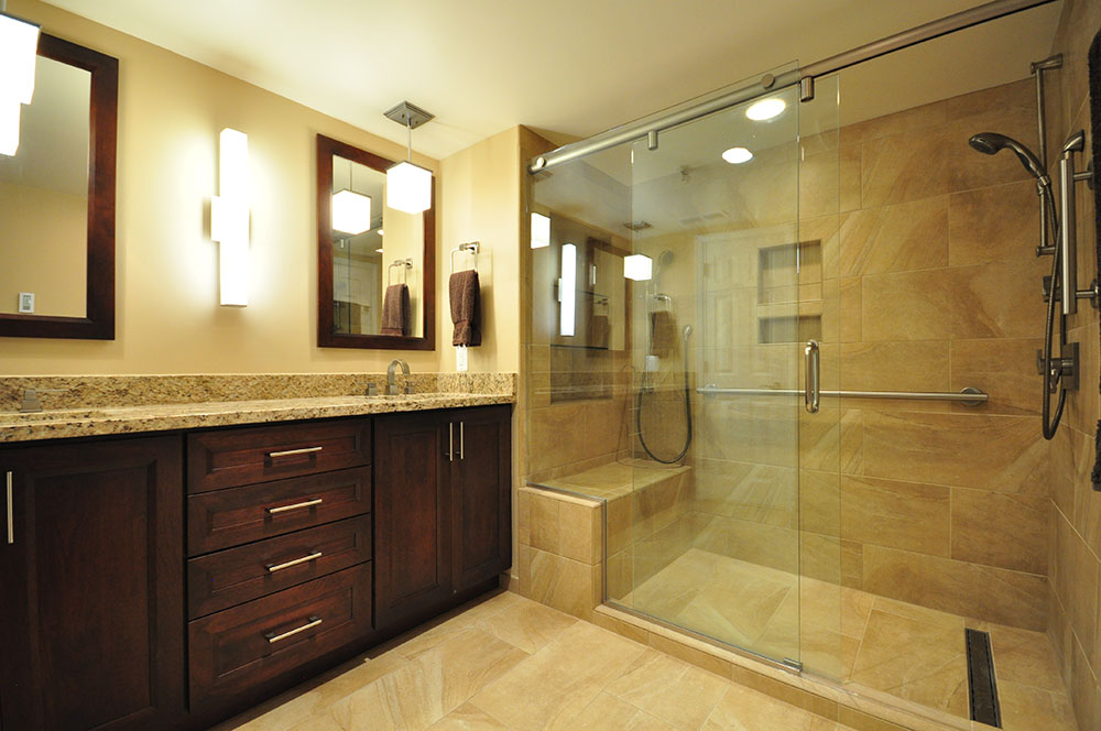 Portfolio kitchen and bath remodeling montgomery Bathroom remodel maryland