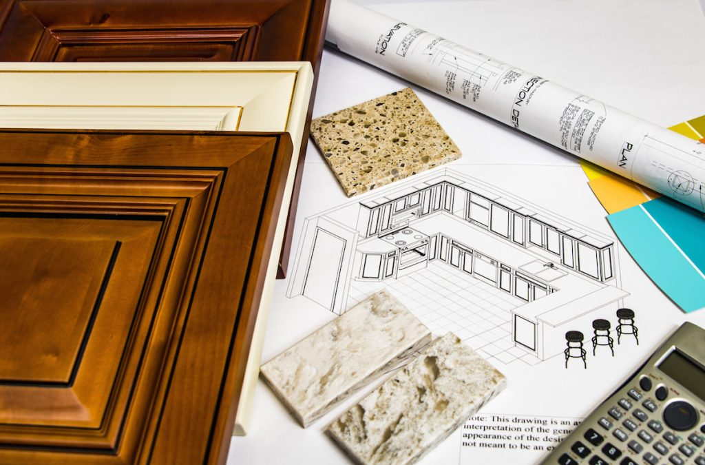 kitchen remodel process and design phases