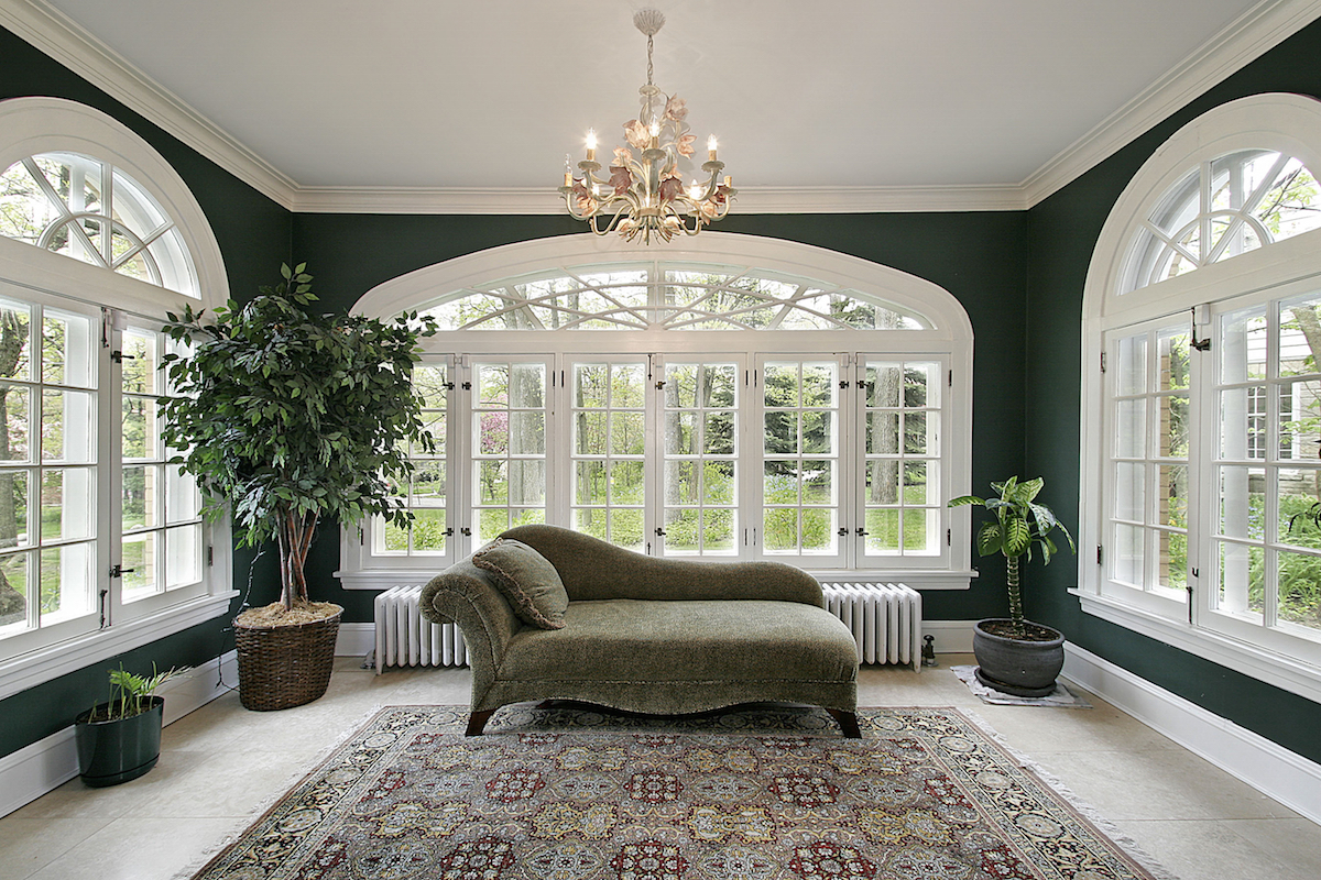 luxury sunroom addition to home