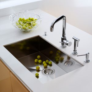 Kitchen faucets and sinks are essential elements of any kitchen.