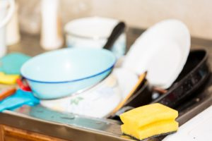 kitchen cleaning process