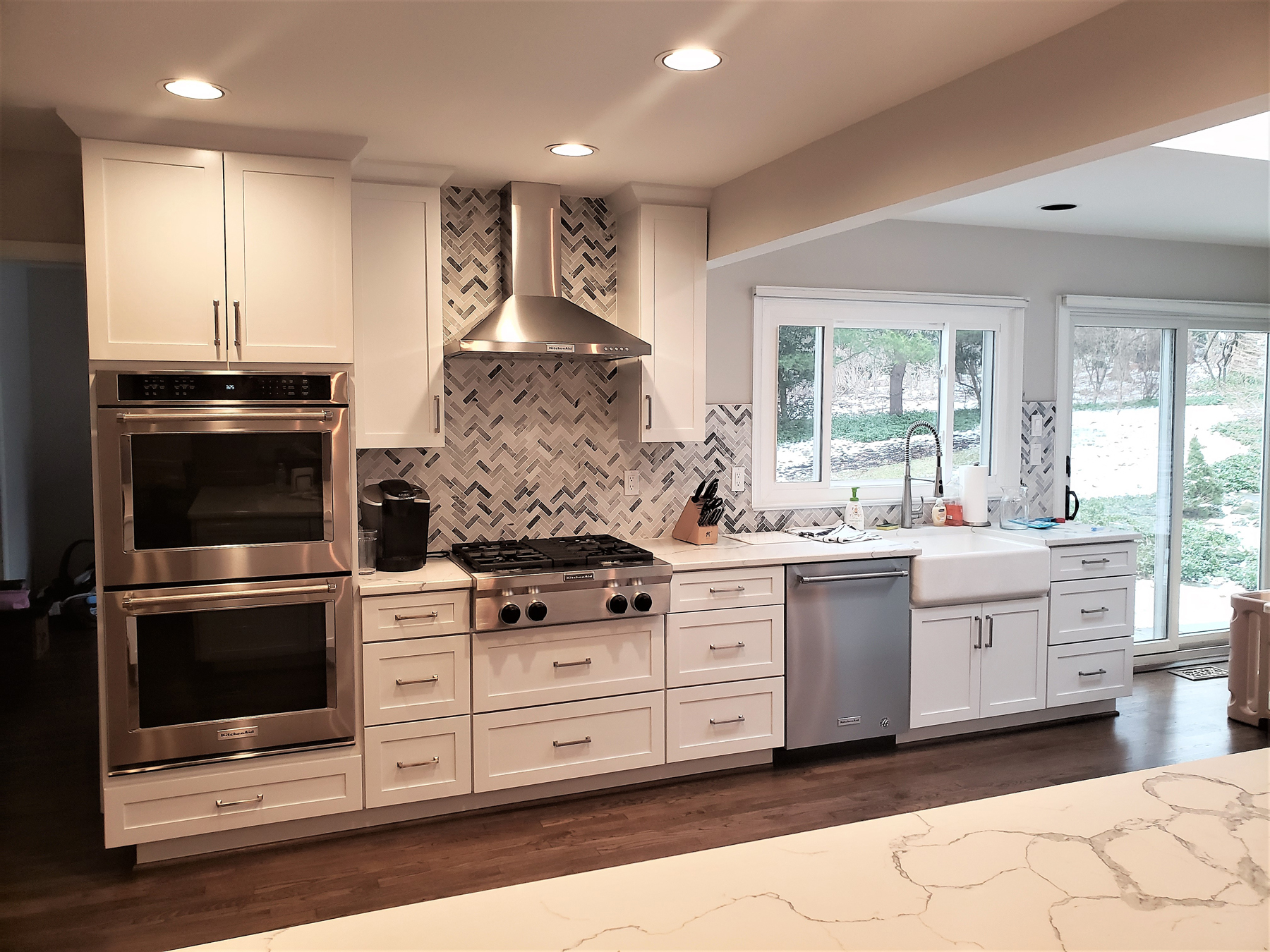 Full Kitchen Remodel with duel ovens in Montgomery County, MD