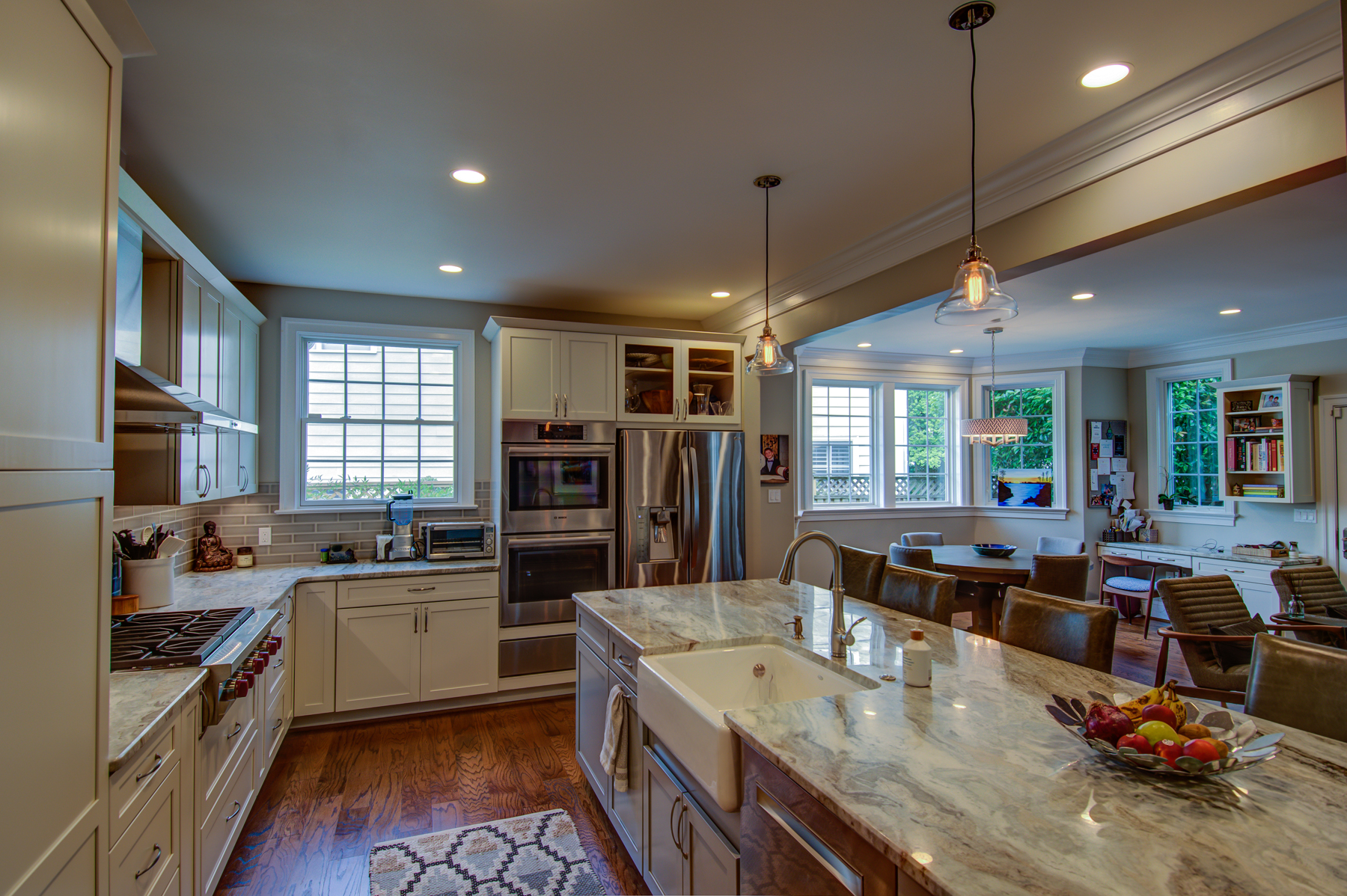 Full Kitchen Remodel with Farm House Sink in Montgomery County, MD